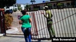Prisión de mujeres en el Guatao.