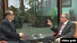 Ri Su-Yong llevó un mensaje de Kim Jong-un a Raúl Castro.