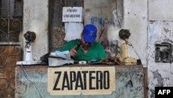 Un negocio privado en Cuba.