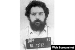 Foto de Lula, arrestado en 1980