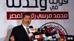Imagen de archivo datada el 13 de junio del 2012 del islamista Mohamed Mursi.