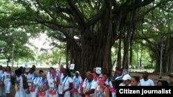 Reporta Cuba Archivo Damas de Blanco Habana