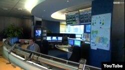 La sala de control de Inmarsat en Londres,: una NASA en miniatura donde se determinó el área donde cayó el vuelo MH370.