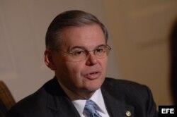 El demócrata de Nueva Jersey Bob Menéndez.