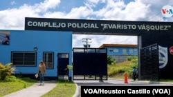 """Complejo Policial Evaristo Vásquez, conocido como """"El nuevo Chipote"""". Lesther Alemán se encuentra en una celda de máxima seguridad en Managua. Foto Houston Castillo, VOA."""