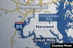 Se reportan heridos durante un tiroteo en una escueala de Great Mills, Maryland.