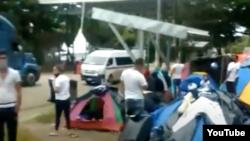 Migrantes cubanos en Costa Rica.