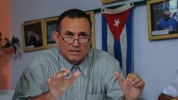 El líder de UNPACU, José Daniel Ferrer. (Yamil Lage/AFP)