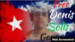 Foto de portada de la cuenta de Facebook de Linda Iturrey, en solidaridad con el músico cubano.