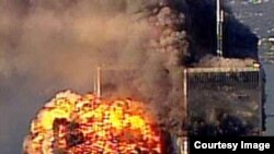 Ataque contra las Torres Gemelas del World Trade Center.