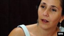 Mariela Castro Espín, hija del gobernante cubano Raúl Castro, en una foto de agosto de 2007.