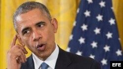 El presidente de Estados Unidos Barack Obama. EFE