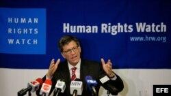 El director para las Américas de Human Rights Watch (HRW), José Miguel Vivanco