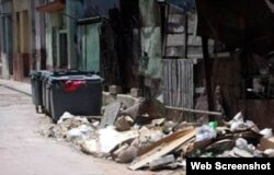 Falta de higiene en las calles