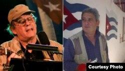 Silvio Rodríguez (izq) salió en defensa del periodista uruguayo afincado en Cuba Fernando Ravsberg (der), quien ha sido privado de su credencial de corresponsal extranjero.