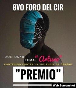 Cartel Arturo, de la canción ganadora de primera mención en Premios Di.Verso, del CIR
