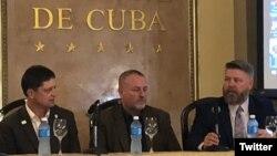 Conferencia de la Coalición Agrícola de Estados Unidos con Cuba. Foto Twitter