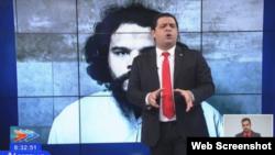 Humberto López en una de sus presentaciones en el NTV.