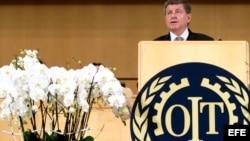 El director general de la Organización Internacional del Trabajo (OIT), Guy Ryder.