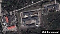 Instalaciones del centro penitenciario Mar Verde, en Santiago de Cuba.