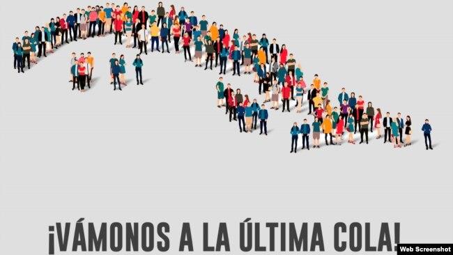 """Imagen de la iniciativa """"La cola de la Libertad""""."""