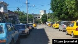Reporta Cuba. Taxis. Foto: Arcelio Molina.