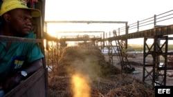 Zafra azucarera cubana disminuye su producción en el período 2011-2012