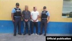 Foto Policía Nacional de Honduras.