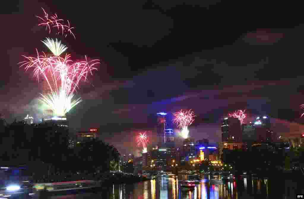Celebraciones de año nuevo - Australia