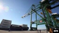Inauguran primera fase del puerto de Mariel