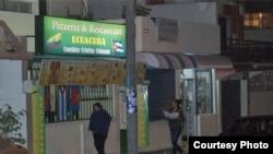 Algunos cubanos han puesto restaurantes de comida criolla en el barrio quiteño de La Florida.
