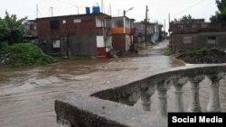 Las afectaciones por lluvias de Eta en Cuba