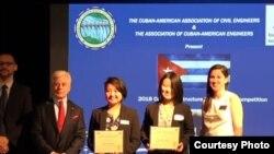 Premio a trabajo de ingeniería para Cuba por especialistas en EEUU.