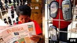 Venta de celulares en Venezuela.