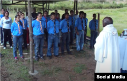 Padre Carrillo en Colombia