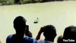 """Imagen tomada de un video publicado en YouTube por el diario """"El Mañana de Reynosa""""."""
