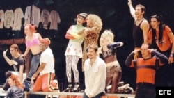"""El musical """"Rent"""", de Broadway. (Imagen de archivo/EFE)"""