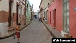 Calle de la ciudad de Camagüey