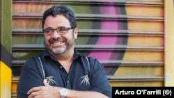 Arturo O'Farrill, hijo de Chico O'Farrill y fundador del Afro Latin Jazz Orchestra.