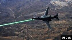 La nueva tecnología militar de alta potencia es diez veces más pequeña que los láseres actuales.