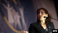 Socorro Grossa, subdirectora de la oficina regional de la OPS/OMS, en la inauguración del Congreso Latinoamericano de Salud.