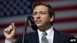 El gobernador de Florida Ron DeSantis.