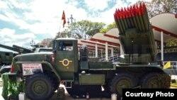Armamento del ejército de Venezuela