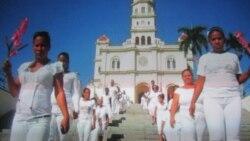 Impiden a Damas ingresar a Iglesia del Cobre