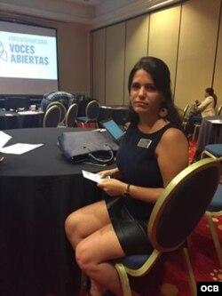 Elaine Díaz, directora de Periodismo de Barrio