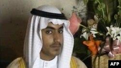 Hamza bin Laden, hijo del fallecido líder de Al Qaeda Osama bin Laden. Foto: Dave Clark | AFP.
