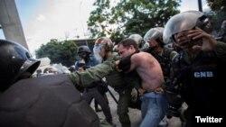 Foto Penal denuncia que más de un millar de personas detenidas en las protestas continúan presas.