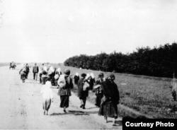 Holodomor en Ucrania, el escape del campo.