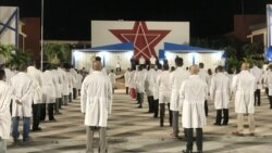 Cardiólogos panameños contra brigada médica cubana