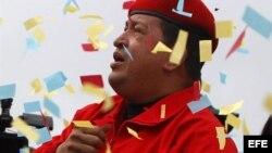 Hasta ahora Chávez sólo ha participado en dos grandes actos, y los demás han sido cadenas desde instalaciones militares.